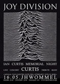 Joy Division / Ian Curtis Memorial Night with Curtis