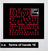 CD FORMS OF HANDS 16 Hands Label Sampler