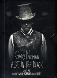 CD GARY NUMAN Here In The Black (Live at Hollywood Forever Cemetery)