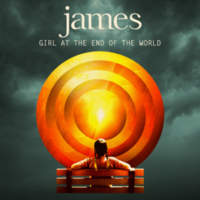 CD JAMES Girl At The End Of The World