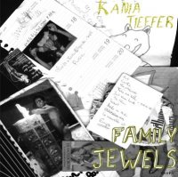 CD KANIA TIEFFER/FAMILY JEWELS split 7 inch ep
