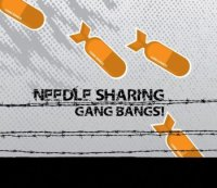 CD NEEDLE SHARING Gang Bangs!