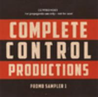 CD COMPLETE CONTROL PRODUCTIONS Promo Sampler 1