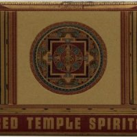 CD RED TEMPLE SPIRITS Dancing to restore an eclipsed moon/ If tomorrow I were leaving for Lhasa, I wouldn't stay a minute more...