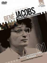 CD RENÉ JACOBS Singer & Teacher