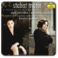 CD G.B. PERGOLESI Stabat Mater (Anna Netrebko, Accademia Nazionale o.l.v. Antonio Pappano)