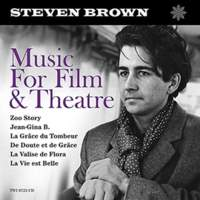 CD STEVEN BROWN Music For Film and Theatre