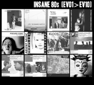 CD VARIOUS ARTISTS Insane 80's